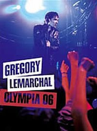 Cover Grégory Lemarchal - Olympia 06 [DVD]